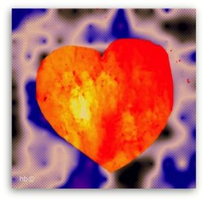 Behalte das Feuer der Liebe,  die Fröhlichkeit in deinem Herzen.  Lasse die Funken sprühen.     Schätze dieses wundervolle Schlagwerk  und pflege es.