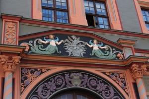 Detailansicht vom Cranachhaus a. Marktplatz