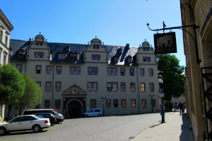 ROTES SCHLOSS WEIMAR - 1574-76 als Witwensitz für die Herzogin Dorothea Susanna errichtet