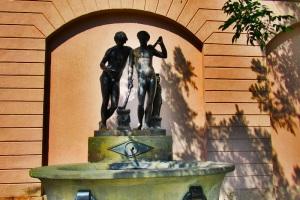 Der Ildefoso-Brunnen
