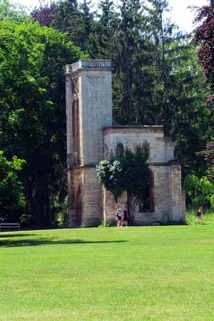 Im Park an der Ilm, Ruine Templer