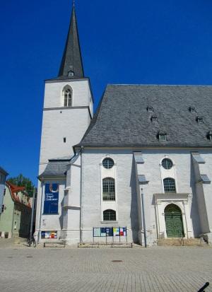 Die Stadtkirche St. Peter und Paul, auch Herderkirche