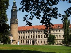 Residenzschloss Weimar am Park an der Ilm