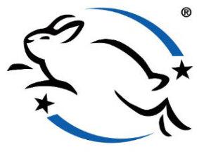 springendes Kaninchen © Humane Cosmetics Standard (HCS)