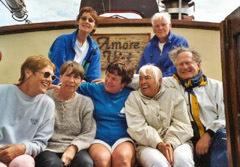 eine Gruppe Senioren