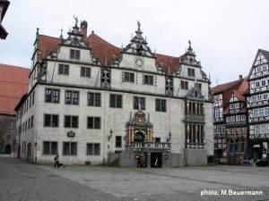 Das Rathaus in Hann. Münden