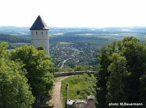 Blick von der Burg Plesse ins Leinetal - 2005_06_21-074