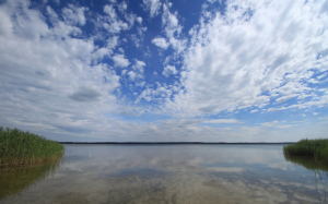 Blick über den Brandenburger See