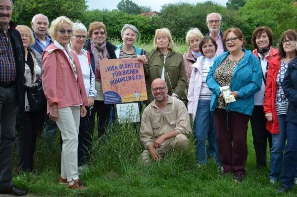 Frankfurter Regionalgruppe beim Bio-Imker Kramerhonig in Grävenwiesbach.