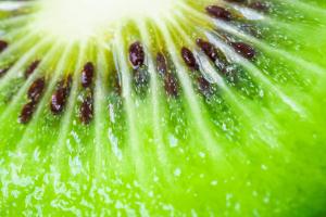 Nahaufnahme einer Kiwi