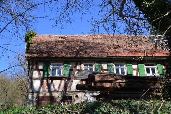 altes typisches Hohenloher Bauernhaus