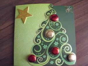 Weihnachtskarten Mit Knöpfen.Bildergalerie Weihnachtskarten 2014