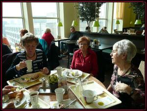 Frauenfrühstück am 1. April 2008 der Regionalgruppe Berlin-Mitte
