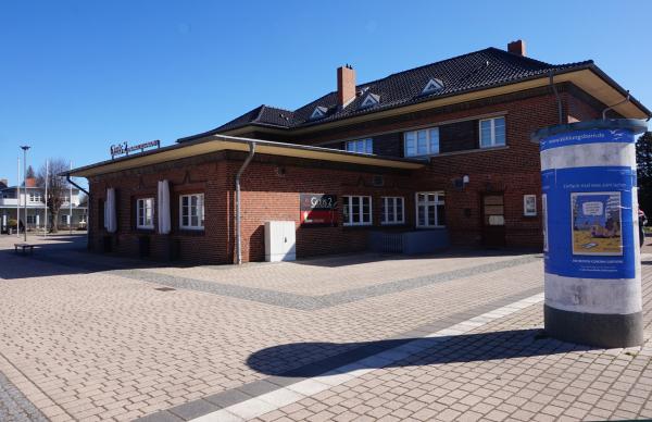 Bahnhof Kühlungsborn Ost Vorplatz