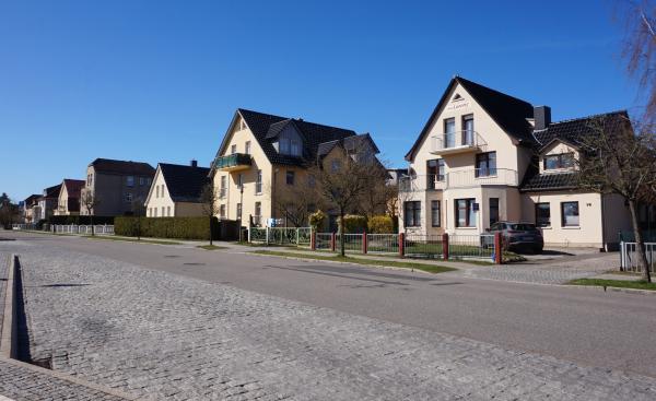 Alte Villen beim Bahnhof Kühlungsborn Ost