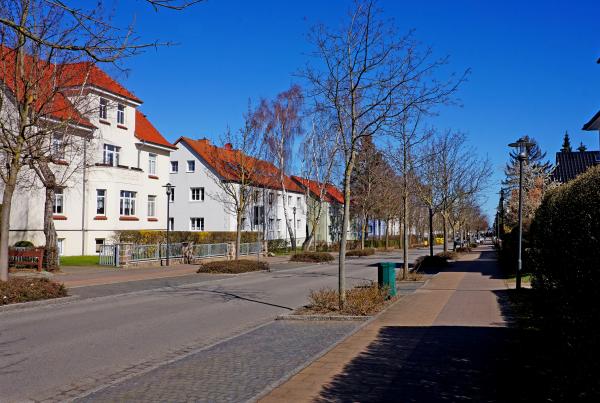 Herrmannstraße -Richtung Meer