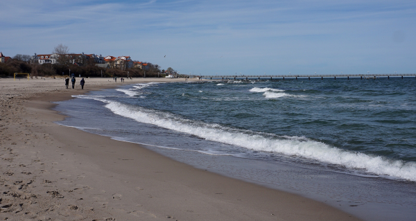 Am Strand Kühlungsborn Ost
