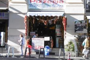Die Pizza wurde in Napoli erfunden - hier kehrten wir ein
