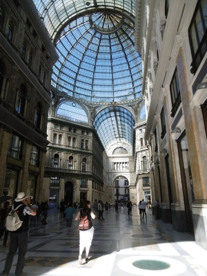 In der Galleria Umberto
