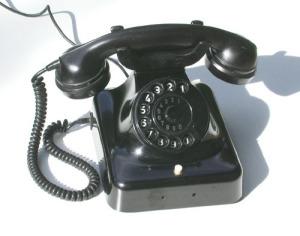 Telefon aus den 1950er Jahren