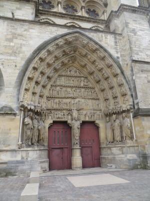 Reims, Eingang