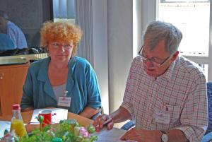 COPD-Gesprächsrunde - Manfred und Daniela