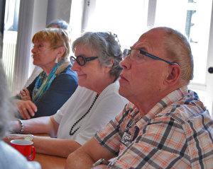 COPD-Gesprächsrunde - Sybille, Barbara, Karl-Heinz