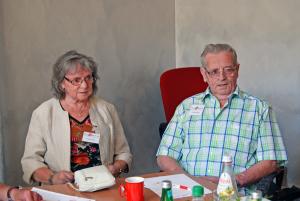 COPD-Gesprächsrunde - Irmgard und Ludwig