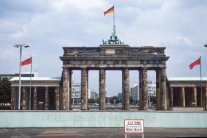 Brandenburger Tor im Jahr 1980
