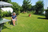 Pingeline auf dem Campingplaz in Drakenburg