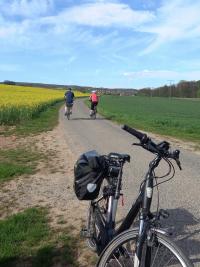 Tulpe55 liebt Radtouren in der schönen Natur