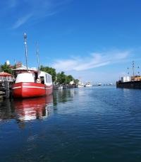 Boote in Rostock