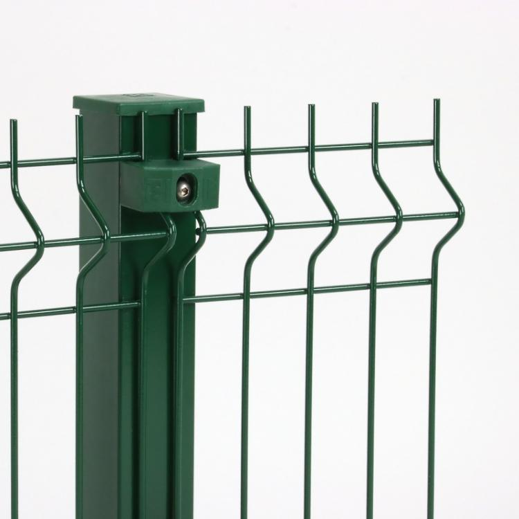 Modular panel fencing