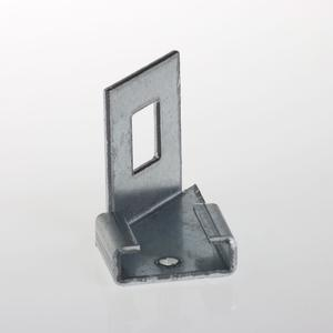 Adapter bracket left For electro forge-welded grating