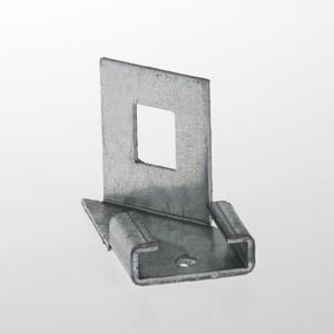 Adapter bracket right For electro forge-welded grating