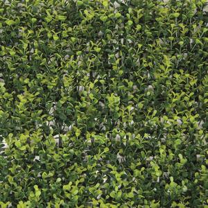 Divy 3D Panel Buxus Synthetic hedge with box leaves in interlocking modules