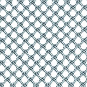 Airy argento Rete a maglia decorativa contro il vento