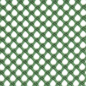 Airy verde Rete a maglia decorativa contro il vento