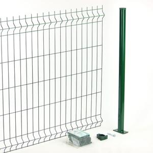 Green Panoplax modular panel fence kit Cheaper and easier