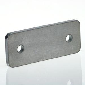 2 holes steel anchor plate with bevels The most elegant