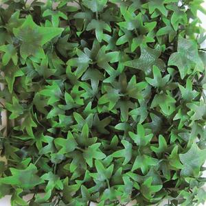 Divy 3D Panel Helix Synthetic hedge with ivy leaves in interlocking modules