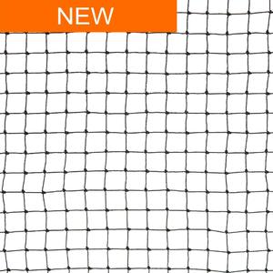 Black 19x19 anti-bird netting Polythene netting for protection against small birds