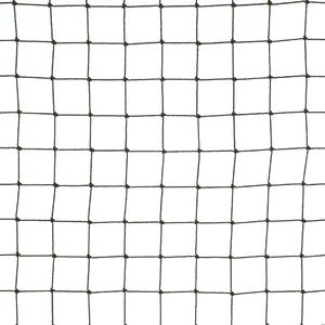 Black coloured 19x19 anti-bird netting Polythene netting for protection against birds