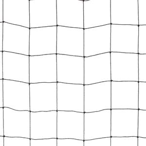 Black coloured 50x50 anti-bird netting Polythene netting for protection against big birds