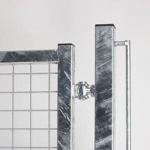 Cancello Standard Zincato 2 ante Il cancello per impianti sportivi