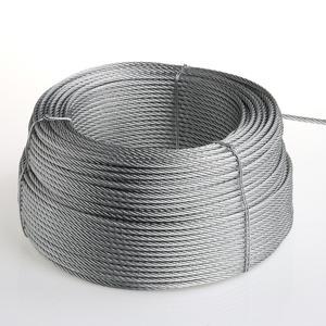 Cavo acciaio zincato Per gli impianti sportivi