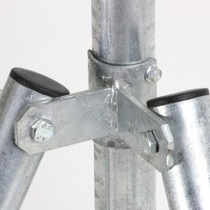 Collare Angolo L'accessorio di fissaggio tra palo e saetta