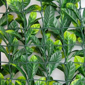 Divy Laurus Plus 3D Synthetic hedge with dense laurel-like foliage