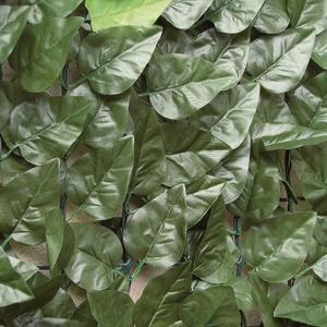 Divy Laurus Siepe sintetica a rotolo con foglie simili al lauro