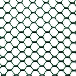 Exagon verde Rete con bordi lisci non taglienti